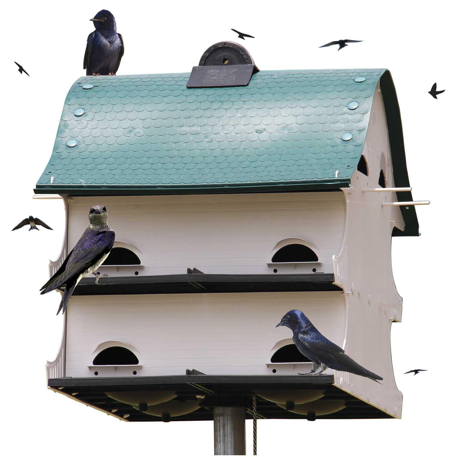 Purple Martin Bird House Telescoping Pole