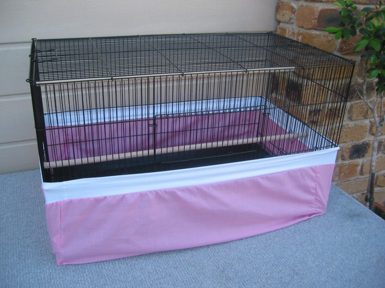 Seed Catchers for Large Bird Cages