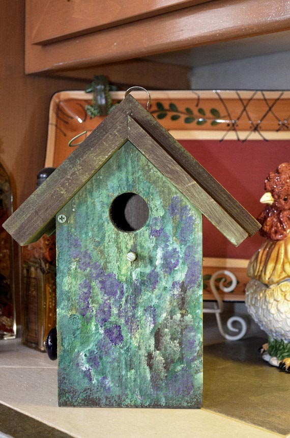 Tole Painting Bird Houses