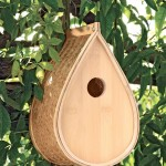 Yellow Finch Bird House